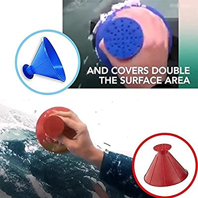 Cone-Shaped Car Windshield Snow Removal Window Cleaning Tool, Snowboard Defroster Motorcycle With Snow Brush : everything 5 pounds (or less!)