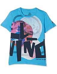 El Niño 13013, Camiseta Para Niños, Azul ( Bahía), 10 años