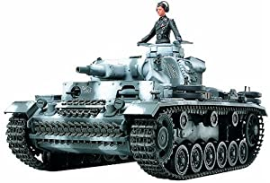 Tamiya 35290 - Maqueta para montar tanque Alemán Panzerkampfwagen III Ausf Escala 1/35