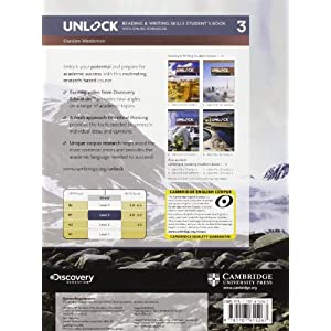 Unlock. Level 3. Reading and writing skills studen