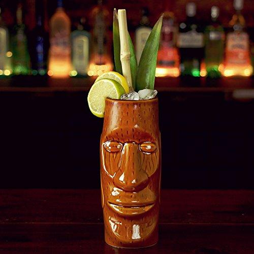 ocktailbecher 415ml–Keramik, Hawaii-Design, Cocktailbecher (Tiki Bar-produkte)