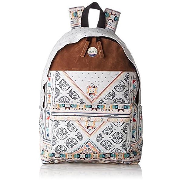 7cf1c99f5 Ofertas para comprar online Bolso mochila Roxy (Sugar Baby Soul - Bolso de  Mochila Mujer, multicolor (Multicolore (Marshmallow Geo)), 32x14, ...