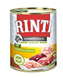 Rinti Kennerfleisch Senior+Huhn, 12er Pack (12 x 800 g)