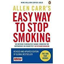 (Allen Carr's Easy Way to Stop Smoking: Be a Happy Non-smoker for the Rest of Your Life) By Allen Carr (Author) Paperback on (Jan , 2009)