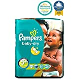 Couches Pampers Baby-Sec Taille 5 + Transporter Les Blocs - 22 Langes -