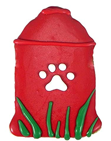 Pawsitively Gourmet Fire Hydrant Cookies with Chicken Liver for Dogs(Pack