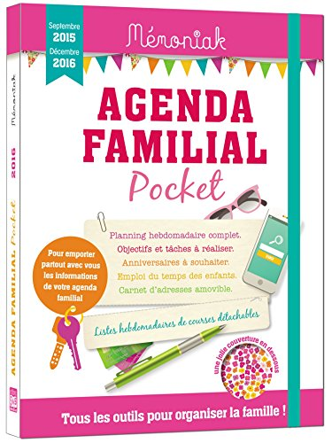 Agenda familial Memoniak Pocket 2015-201...