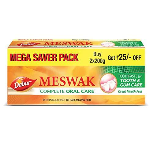 Dabur Meswak Toothpaste - 200 + 200gms