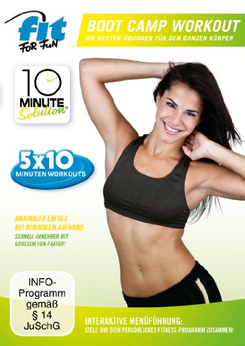 Fit for Fun - 10 Minute Solution: Boot Camp Workout