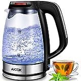 Aicok Glas Wasserkocher 1