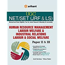 UGC-CSIR NET (JRF & LS) Human Resource Management Labour Welfere & Industrial Relations Labour & Social Welfere