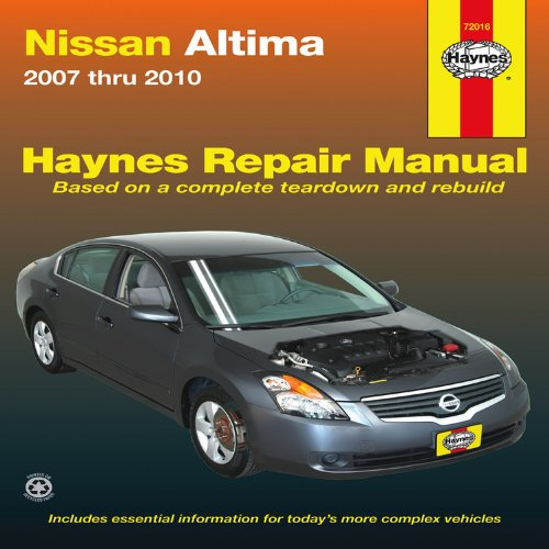 nissan-altima-automotive-repair-manual-2007-thru-2010