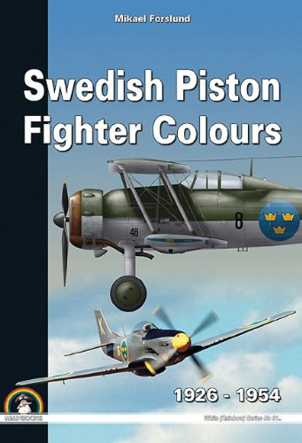Swedish Piston Fighter Colours: 1926-1954 (White Series (Rainbow)) por Mikael Forslund