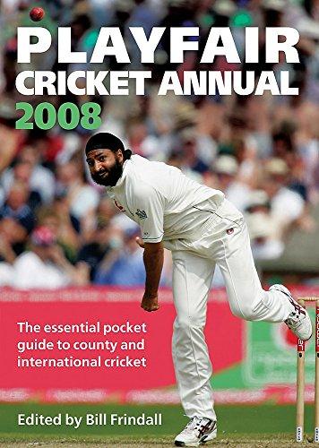 Playfair Cricket Annual 2008 por Bill Frindall