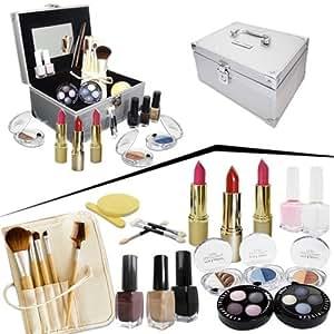 Coffret maquillage complet Soir avec valise Alu
