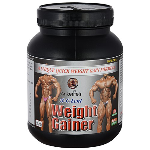 Ankerite X-C-Lent Weight Gainer (Chocolate) - 500 g  available at amazon for Rs.485