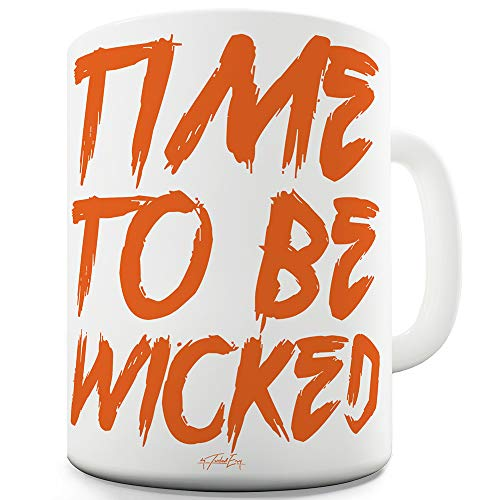 Be Wicked Keramiktasse, Keramik, weiß, 11 OZ ()