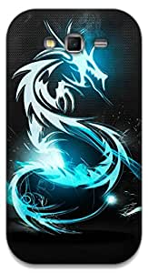 The Racoon Lean Blue Dragon hard plastic printed back case / cover for Samsung Galaxy Grand