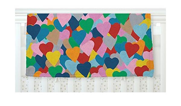 40 x 30 KESS InHouse Project M More Hearts Fleece Baby Blanket