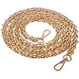 Gazechimp Partes de Bolsa Cadena Cuerda para Hombros Comoda Suave Colgante Reemplazo Atractiva Elegante de Oro