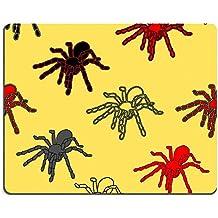 MSD Gaming tapis de souris en caoutchouc naturel d'image: 14036664Halloween noir avec motifs araignées sans coutures et une Web peut être répété et échelle dans n'importe quelle taille