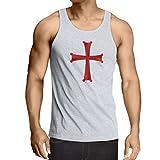 lepni.me Weste Christliche ritterordnung - die Ritter Templar Kreuz (Small Weiß Mehrfarben)