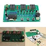 Ils - 5V-12V AT89C2051 Multifonction Six Digital LED Kit d'horloge électronique Bricolage