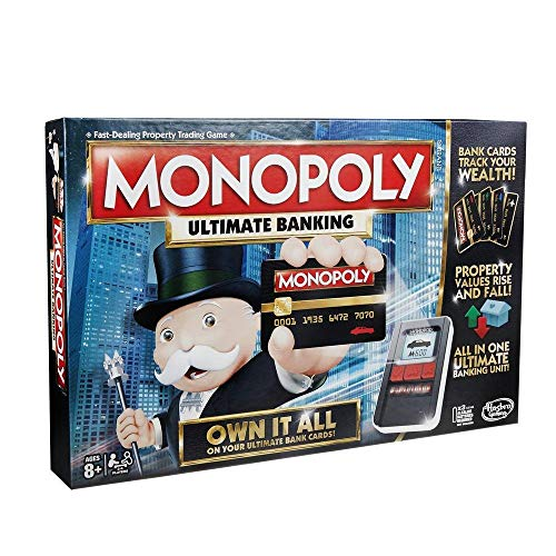 Sardar Ji Toys Monopoly Ultimate Banking Game Ages 8 and Up, 2 - 4 Players