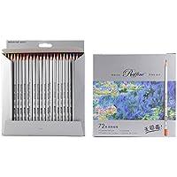 72-Color Raffine Marco fine–Matite colorate/matite da disegno per Sketch/Secret Garden Coloring Book (non incluse)
