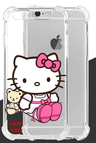 Hello Kitty ultraklar Fall Lassen und stoßfest für Apple iPhone 6Plus & iPhone 6S Plus-Retail Verpackung, TPUIP6SPKT8 (Iphone Fall Hello Kitty 6 Plus)