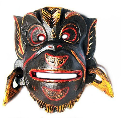 wooden-monkey-wall-mask-of-hannuman-hand-carved-in-bali-new