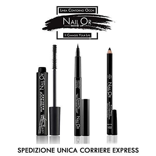 'Nail OR Make Up Mascara Volume, Waterproof, Kajal, Eyeliner Stift