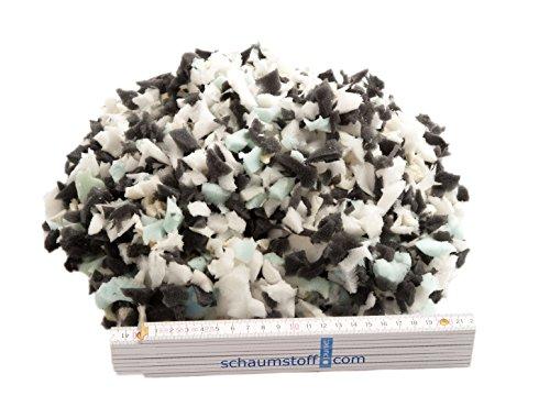Unbekannt Schaumstoffflocken 10 Kg Flocken Füllmaterial für Kissen und Polster