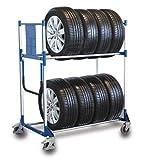 Kunststoffkantenschutz für Reifenregal/-wagen Weiß