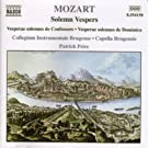 Mozart: V�pres Solennelles
