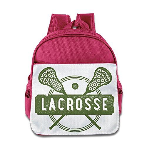 jxmd Custom Cool Lacrosse Sport Jungen und Mädchen Schule Tasche für 1-6Jahren royalblau, unisex, rose (Mädchen Größe 3 Uggs)