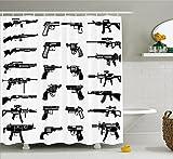 Telecharger Livres Ambesonne Decor Collection de salle de bain Tissu Polyester Rideau de douche Tissu Multi 12 69W x 75L (PDF,EPUB,MOBI) gratuits en Francaise