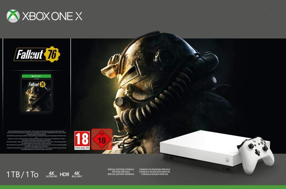 Xbox One X – Consola 1 TB, Color Blanco + Fallout