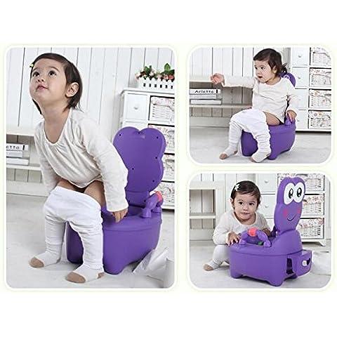 WHH/Di Un Cassetto extra-large Bambini Baby WC vasino WC uomini e donne neonato WC Viola