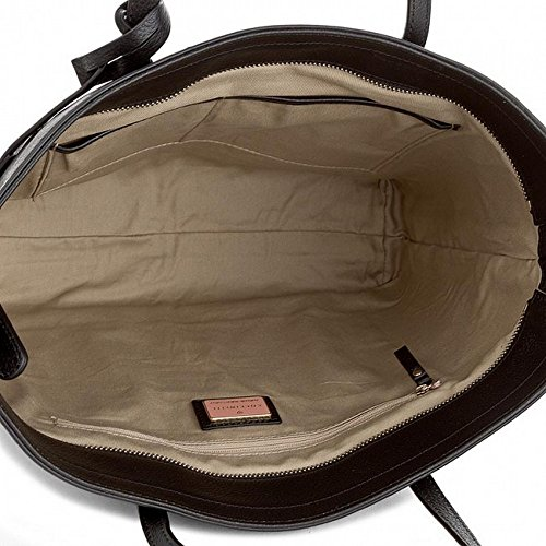 Coccinelle Shopping Bag linea Clementine Soft in vera pelle black_black, schwarz