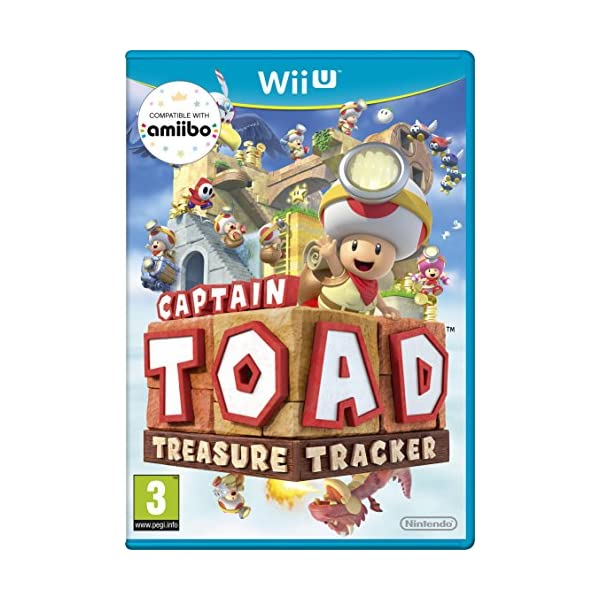 Captain Toad: Treasure Tracker (Nintendo Wii U) 510Ts6m HwL