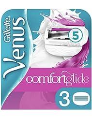 Venus Lames Confortglide Breeze pour Femme, Pack de 3 Lames de Rasoir [OFFICIEL]