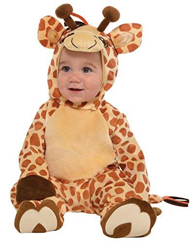 Kleine Giraffe Kostüm Baby Amscan