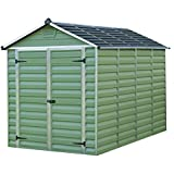 Caseta de jardín en policarbonato Skylight 5.6 m² - Verde