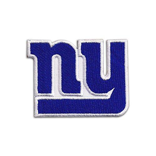 Auf Patch-new Eisen York (New York Giants Logo NFL Badge bestickt Patch 7,6cm Aufnäher oder zum Aufbügeln)