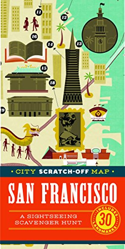 (City Scratch-Off Map: San Francisco: A Sightseeing Scavenger Hunt)