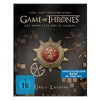 """Game of Thrones - Die komplette 2. Staffel (Steelbook) - mit Magnet """"Siegel Haus Lannister"""" [Blu-ray]"""