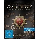 """Game of Thrones - Die komplette 2. Staffel (Steelbook) – mit Magnet """"Siegel Haus Lannister"""""""