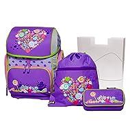 Schneiders Set de sacs scolaires, violet (Pourpre) - 10110299