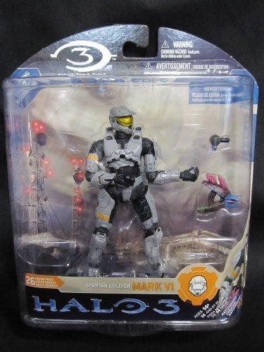 Mc Farlane - Figurine Halo 3 Serie 3 Master Chief Silver 15cm - 0787926183160